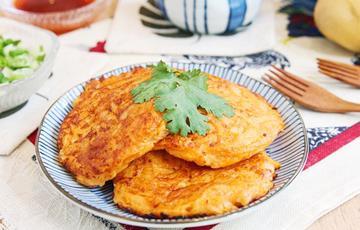 Bánh khoai tây trứng
