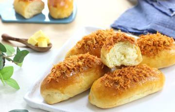 Bánh mì chà bông cay