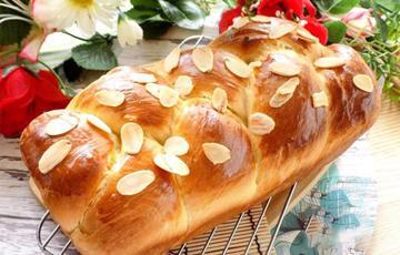 Bánh mì hoa cúc đơn giản