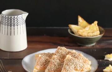 Bánh mì nướng tôm