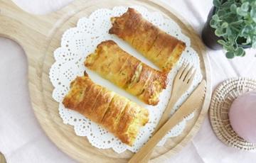 Bánh mì sandwich cuộn khoai lang