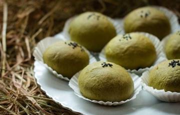 Bánh mì trà xanh