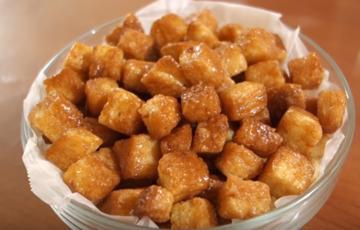 Bánh mì viên sốt Caramel