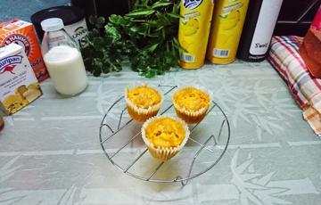 Bánh muffin bí đỏ sữa chua