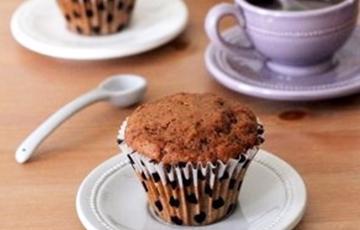 Bánh muffin chocolate cà phê
