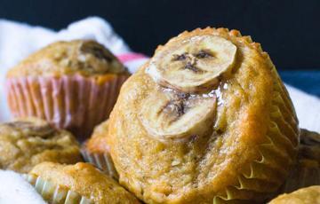 Bánh muffin chuối dừa hạt macca