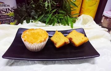 Bánh muffin sữa chua nho khô