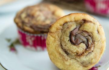 Bánh muffin vị chuối