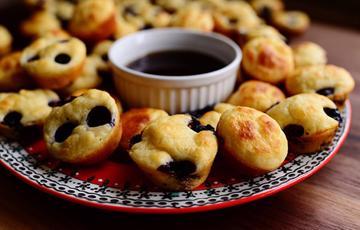 Bánh muffins việt quất mini