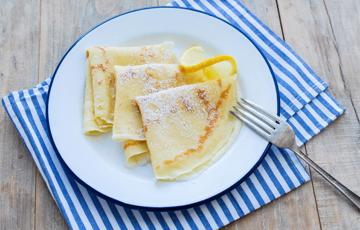 Bánh pancake kiểu Anh