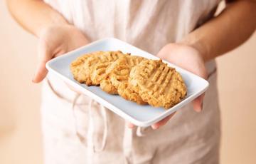Bánh quy bơ đậu phộng nướng đơn giản