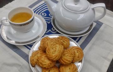 Bánh quy bơ hạnh nhân Danisa