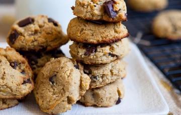 Bánh quy chuối dừa và chocolate