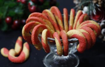 Bánh quy hình kẹo gậy