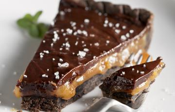 Bánh tart chocolate 2 lớp