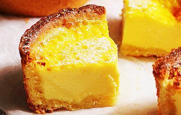 Bánh tart nhân kem trứng