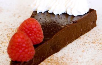 Bánh truffle chocolate