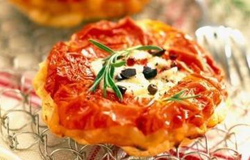 Bánh xốp cà chua