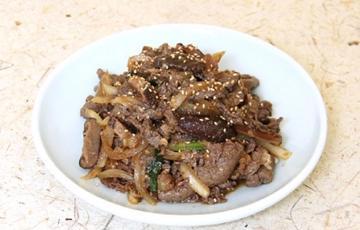 Bò xào kiểu Hàn