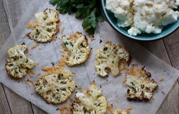 Bông cải trắng nướng phô mai