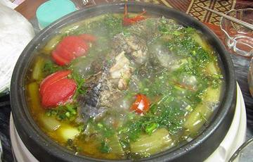 Cá chạch nấu canh gừng