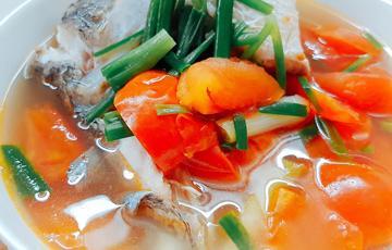 Cá chẽm nấu ngót