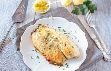Cá rô phi nướng giòn