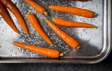 Cà rốt nướng