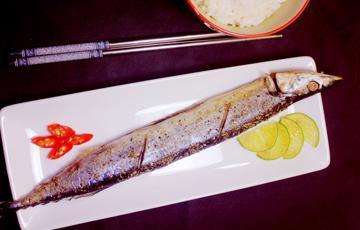Cá thu nướng muối tiêu