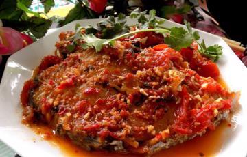 Cá thu sốt chua ngọt