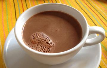 Cacao sữa nóng