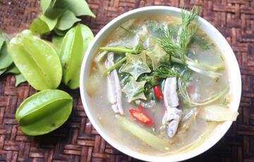 Canh chua khế cá cơm