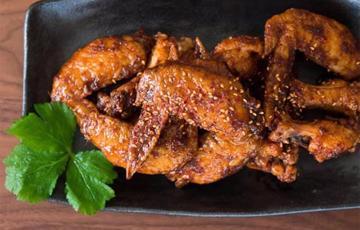 Cánh gà chiên cay kiểu Hàn