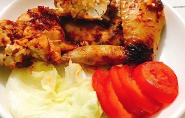 Cánh gà nhồi cơm kiểu Hàn