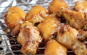 Cánh gà nướng mật ong tỏi