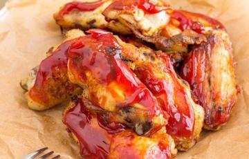 Cánh gà nướng ngọt cay