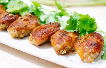 Cánh gà nướng sả