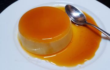 Caramel flan đơn giản