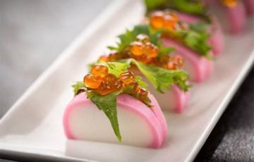 Chả cá Nhật trứng cá hồi