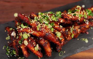 Chân gà nướng Hàn Quốc