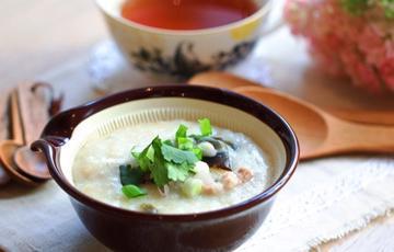 Cháo trứng vịt bắc thảo