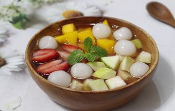 Chè trân châu trái cây