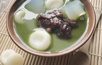 Chè Zenzai trà xanh