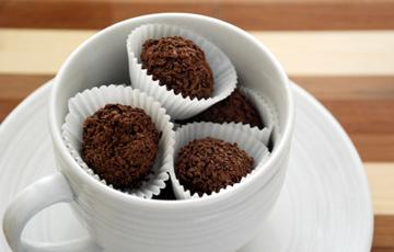 Chocolate truffle 2 lớp