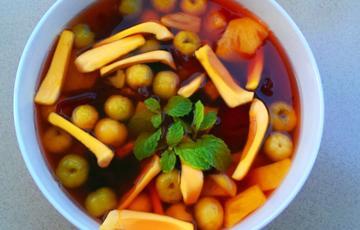 Cocktail trái cây chua ngọt