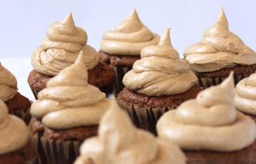 Cupcake thảo mộc