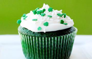 Cupcake xanh