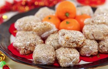 Kẹo đậu phộng mè