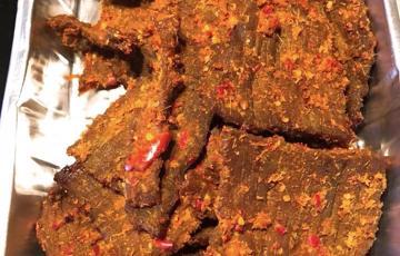 Khô bò homemade