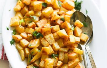 Khoai tây nướng gia vị cay